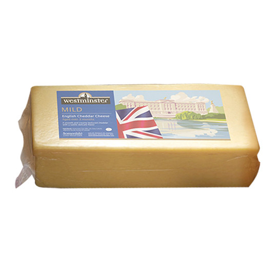 Somerdale British Mild White/Natural Cheddar 2.5kg