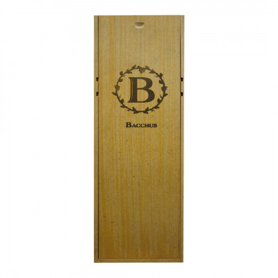 Wooden Wine Box with handle