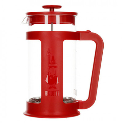 Bialetti Coffee Press Smart Red 8 cups
